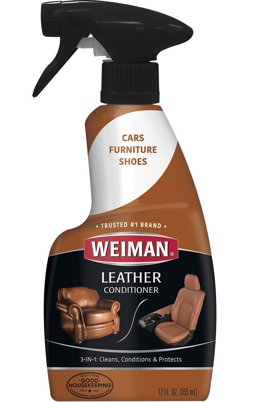 Weiman Leather Cleaner & Conditioner 12 fl oz - 6 pack