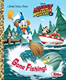 Gone Fishing! (Disney Junior: Mickey and the Roadster Racers) (Little Golden Book)