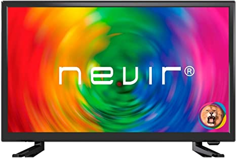 Nevir TV 22PULGADAS LED Full HD - NVR - 7705-22FHD2 - N - TDT HD - HDMI - USB - R: BLOCK: Amazon.es: Informática
