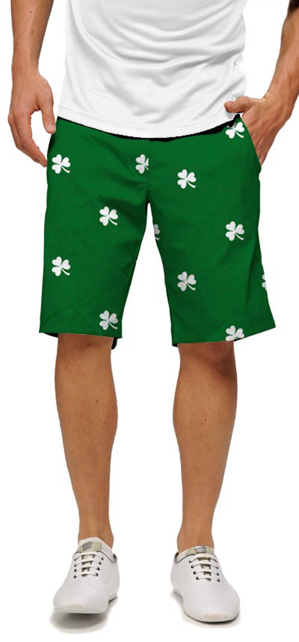 Loudmouth Golf Shamrocks Shorts (32 x 11)