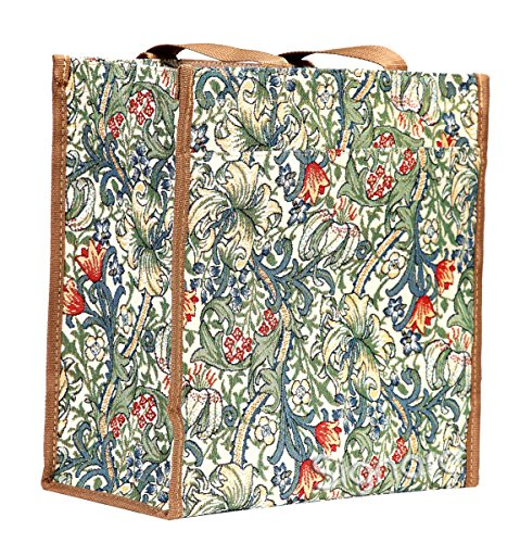 Golden Bag Tote Women William Shoulder Tapestry Shopping SHOP Lily Morris Signare GLILY aZ1wqxpn