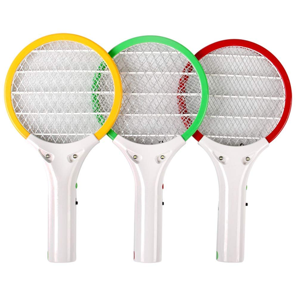 zcbgyks Swatter Electric Fly USB Charging 3-Layer Mesh Design with Led Lights, Set by zcbgyks
