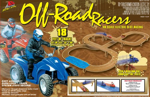 Life-Like Off-Road Racers ATV Electric Slot Car Race (Life Like Ho Racing)