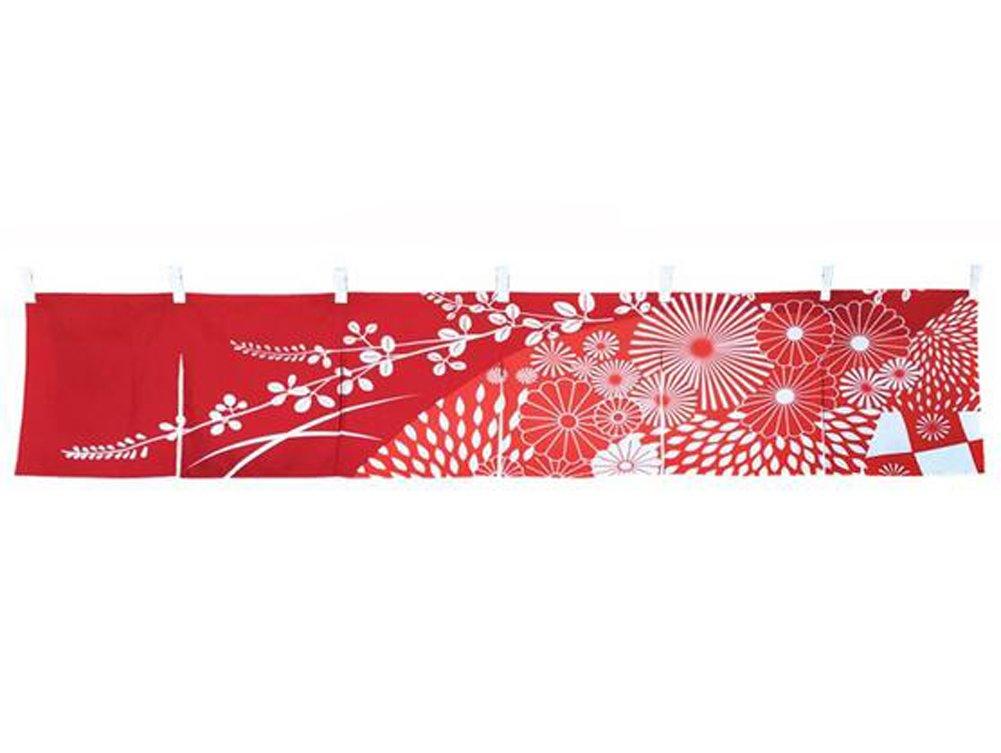 Japanese Style Dishes Noren Short Curtain Bar Kitchen Hall East Majik