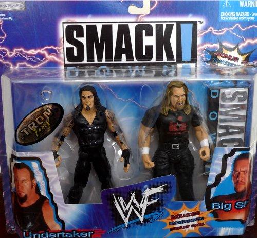 UNDERTAKER vs. BIG SHOW WWE WWF Exclusive Smackdown 2packs Figures