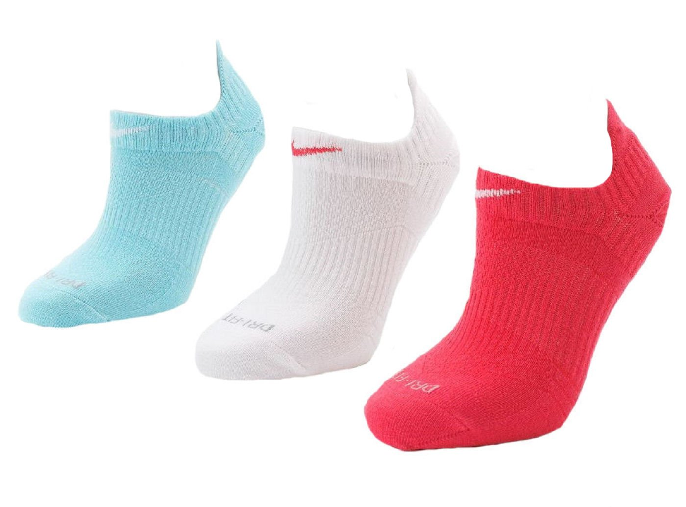 Nike Women's Dri-fit Lightweight No Show Socks 3 Pair