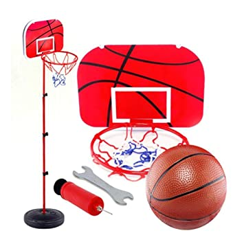 LYH Canasta Baloncesto Infantil 1.5M Altura Ajustable Juego De ...