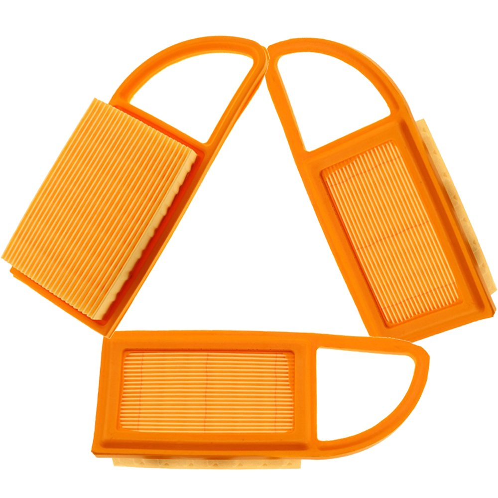 Orange Air Filter For Stihl BR500 BR550 BR600 Backpack Blower Parts Accessories