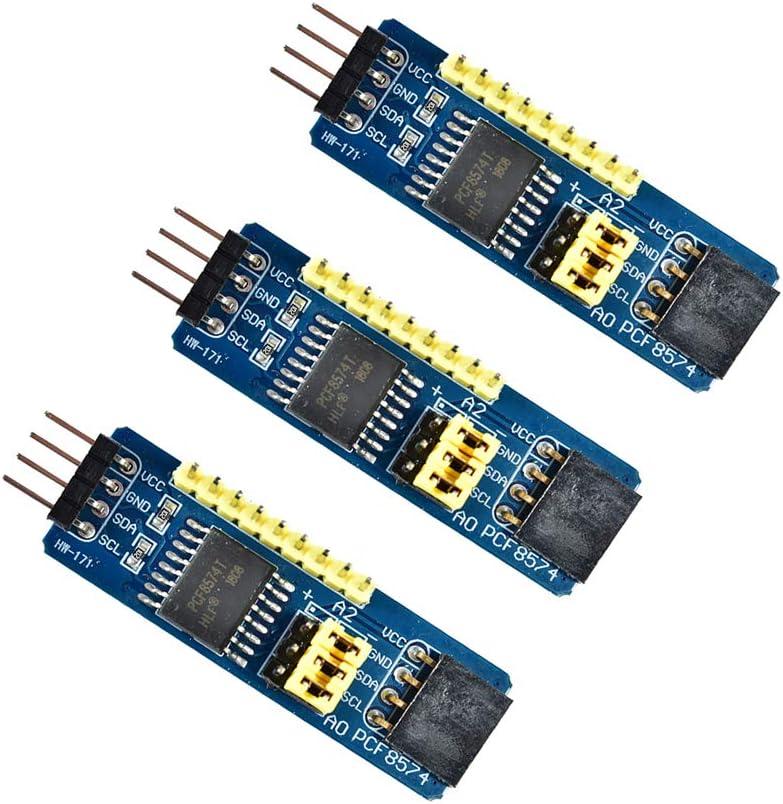 PCF8574T PCF8574 I2C 8 Bit IO GPIO expander module for Arduino /& Raspberry Pi K9