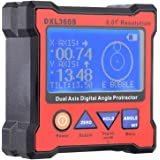 KKmoon DXL360S Dual Axis Digital Winkel Winkelmesser mit 5 Seite magnetischer Basis Hochpräzisions-Dual-Achsen Digitalanzeige Niveaustandanzeiger 100-240V 50-60Hz