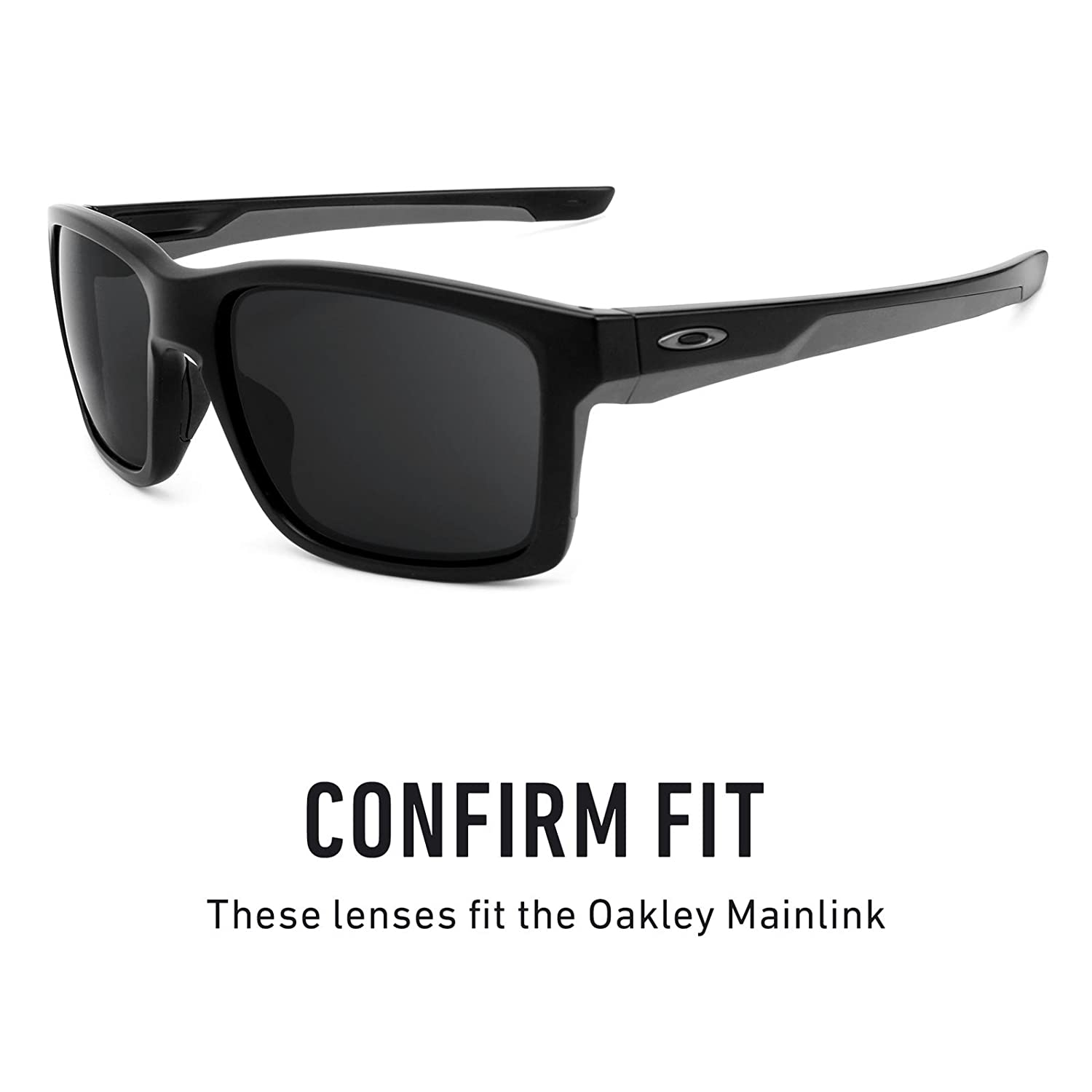 f0e090ac5cf Revant Replacement Lenses for Oakley Mainlink Elite Adapt Grey  Photochromic  Amazon.co.uk  Clothing
