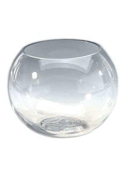 Amazon Afloral Glass Bubble Fish Bowl 8 Tall X 9 Wide Home
