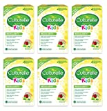 Culturelle Kids Packets Regularity Gentle-Go Formula, Once Per Day Dietary Supplement, Contains Lactobacillus GG –The Most Clinically Studied Probiotic†, 3.5 Grams Of Dietary Fiber, 24 Count, 6 Pack