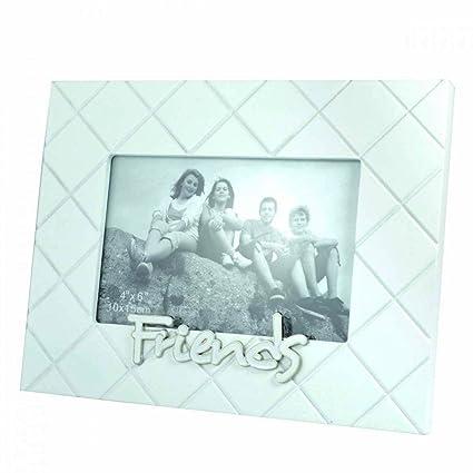 Elegante marco de fotos de familia de caja de regalo diseño con texto en inglés