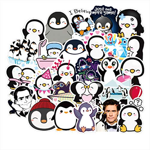 50Pcs Mr. Popper's Penguin Waterproof Stickers for Laptop Stickers Motorcycle Bicycle Skateboard Luggage Decal Graffiti Patches Stickers