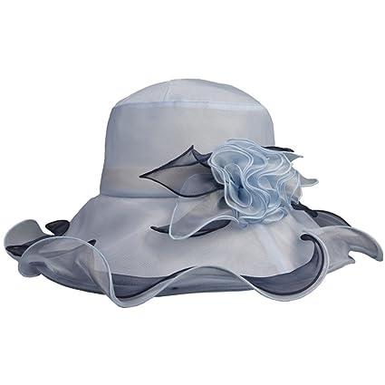 cd0601016440d Zhou Yunshan Sombrero de sombrilla de Seda Femenina versión Coreana de la versión  Coreana de Protector ...