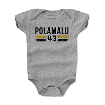 7822abde000 Amazon.com  500 LEVEL Troy Polamalu Baby Clothes   Onesie (3-6