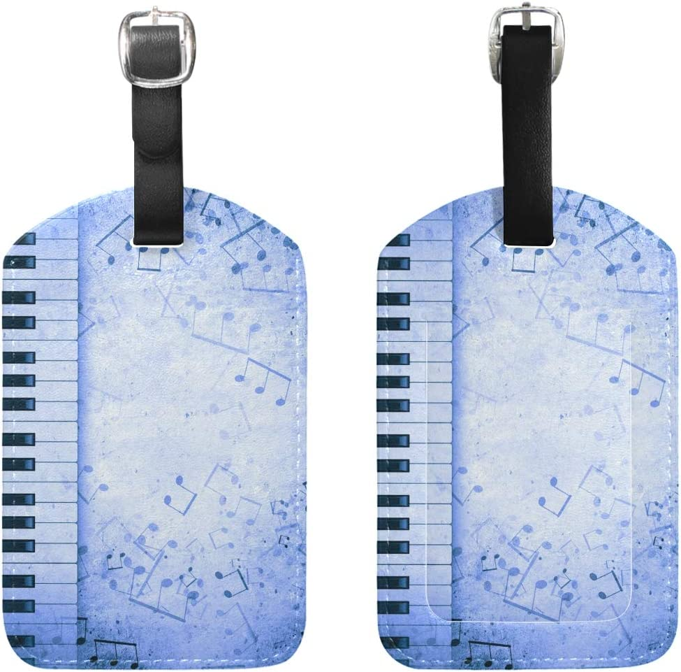 Pianos Travel Tags For Travel Tags Accessories 2 Pack Luggage Tags