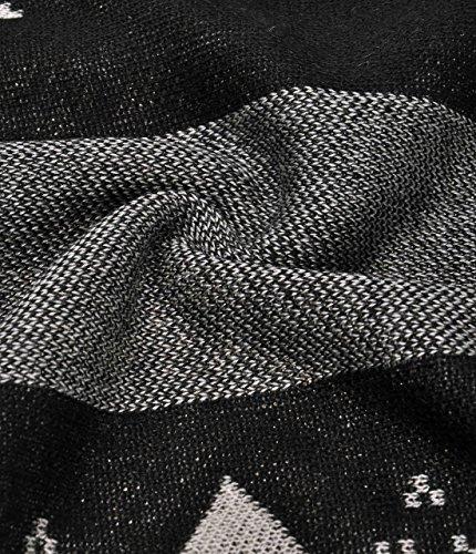 ZLYC - Cárdigan - para mujer negro