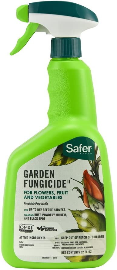 Safer Brand 5450-6 Garden Fungicide Ready to Use 32 Ounces