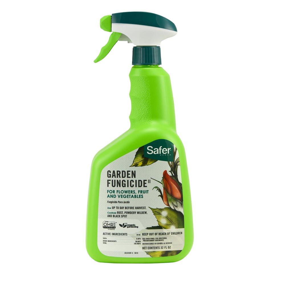 Safer Brand 5450-6 Garden Fungicide Ready to Use 32 Ounces