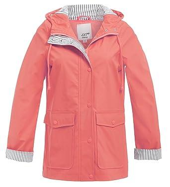 new concept 78ec5 b8520 SS7 Frauen Regen Mac Wasserdichte Regenjacke Damen Jacke Größe 38 40 42 44  46 48 Lachs