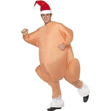 Disfraz de Pavo asado de Navidad Hinchable para Hombre ...