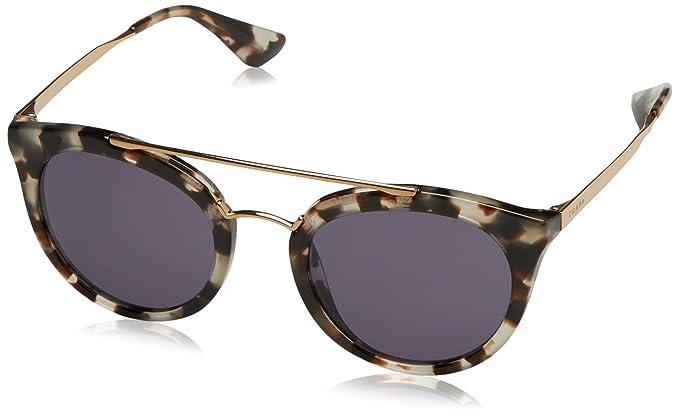 a4b822fa3d Prada 0Pr23Ss Uao6O2 52 Montures de lunettes, Blanc (White Havana/Violet),