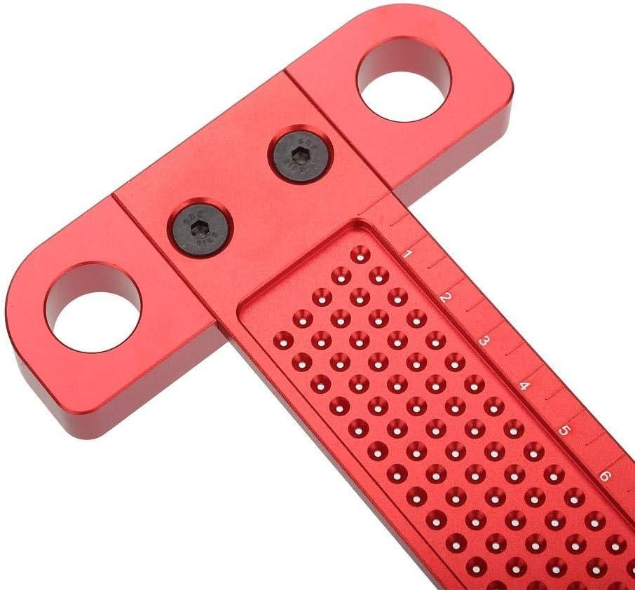 tama/ño : T-160 Regla cuadrada T Tipo cuadrada Regla de aleaci/ón de aluminio for Escribir medici/ón Carpinter/ía herramienta de marcado