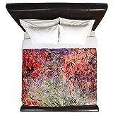 CafePress - Flowering Trees - King Duvet Cover, Printed Comforter Cover, Unique Bedding, Microfiber