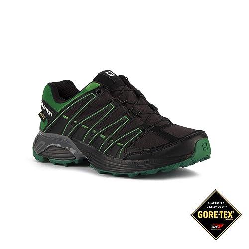 Salomon Zapatilla XT Asama GTX Phantom Fern Green Negro Verde Hombre: Amazon.es: Zapatos y complementos