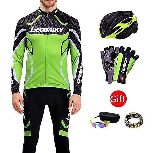 LEOBAIKY Jersey de Ciclismo, Pantalones de Ciclismo Ropa de ...