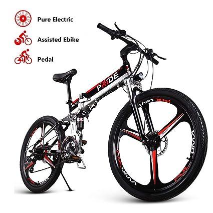Amazon.com: ENGWE Pride-3 Bicicleta eléctrica de suspensión ...