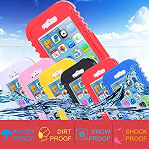 Waterproof Transparent Crystal Clear Case For iphone 6 Plus Swimming Diving Cellphone Hard Full Protection Cover For iphone 6 i6 --- Color:white For iphone 6