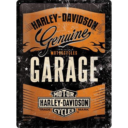 Nostalgic-Art 63304, de Harley Davidson Garage Metallic ...