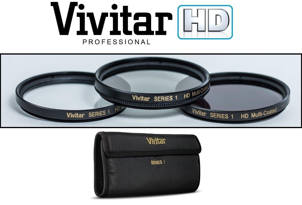 3個入りキットUV / Polarizer / FLDフィルタセットfor Sony DSC - rx100 - rx100 m2 DSC - rx100 II   B078G4S2DP