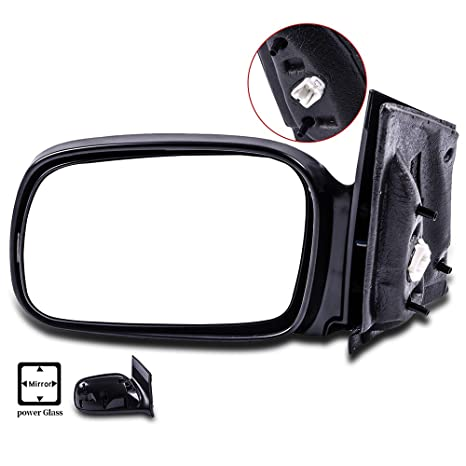 SCITOO Driver Left Door Mirror Fit 2006 2011 Honda Civic Coupe Power Side  Mirror Adjusted