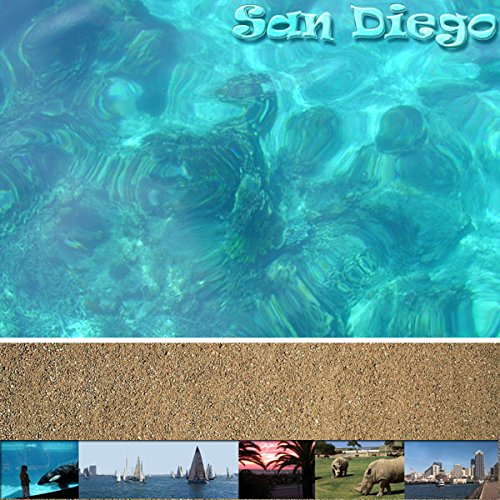 Scrapbook Customs San Diego 12'' x 12'' Scrapbook Paper - 1 Sheet (14232) by Scrapbook Customs (Image #1)