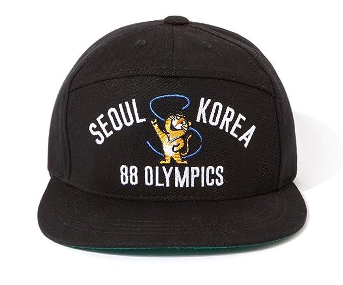 c769006a130 MACARON Unisex-Adult BigBang GD s Seoul Korea 88 Olympics Snapback (Hodoli(Seoul  Olympics