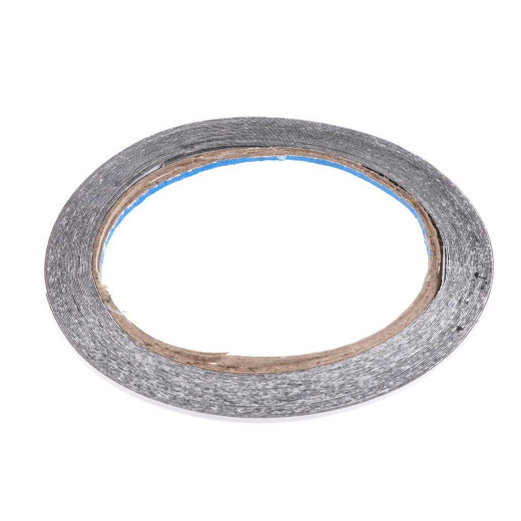 FLAMEER 1 Roll Adhesive Feather Tape Glue Archery Accessories 10M