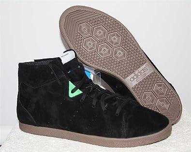 official photos d66a7 a1795 adidas Originals Azzie Mid Black Retro Sneaker Gr. US11EU45, 3  Amazon.co.uk Shoes  Bags