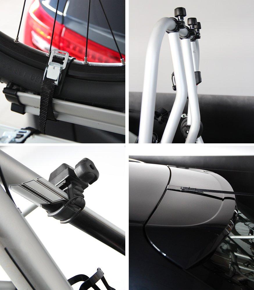 Portabici Posteriore Althura in Alluminio per 3 Bici