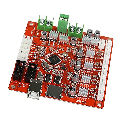 Control Mother Board Mainboard for ANET A8 DIY 3D Printer (red) by cyclamen9 (Image #4)