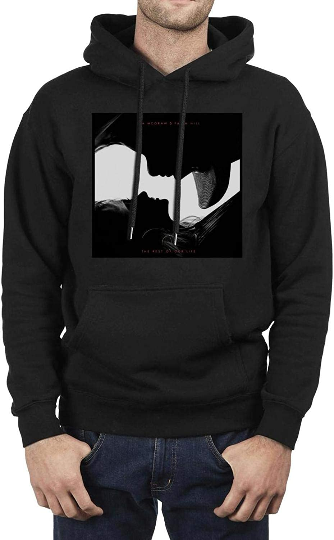 Black Pretty Women Hoodie Tim-McGraw-Digital-Art Fleece Long Sleeve