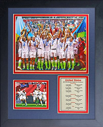 World Cup Soccer United States Legends Never Die Framed Photo Collage, 11