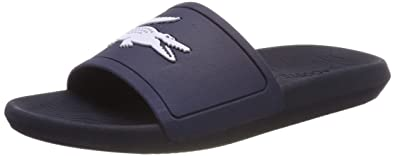 50a4f1887ea2 Lacoste Men's Croco Slide 119 1 CMA Open Toe Sandals: Amazon.co.uk ...