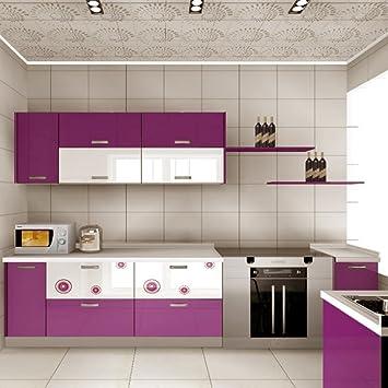 kinlo m pvc papel pegatina de mueble de cocina puerta del armario de pared