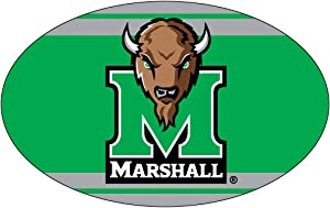 MARSHALL THUNDERING HERD OVAL STRIPE DESIGN MAGNET-MARSHALL UNIVERSITY MAGNET-NEW FOR 2016