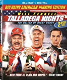 DVD : Talladega Nights: The Ballad of Ricky Bobby [2-Disc Blu-ray – Theatrical + Unrated]