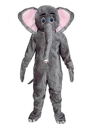 Elefant Einheitsgrosse Xxl Kostum Fasching Karneval Maskottchen